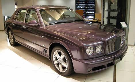 Bentley Arnage - Türkiye'deki en pahalı otomobil
